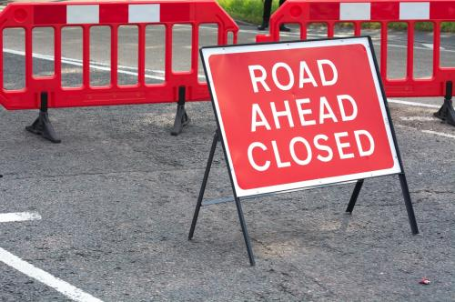 Road closure through St. Michaels