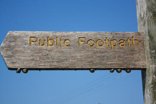 Public Footpaths in Kirkland